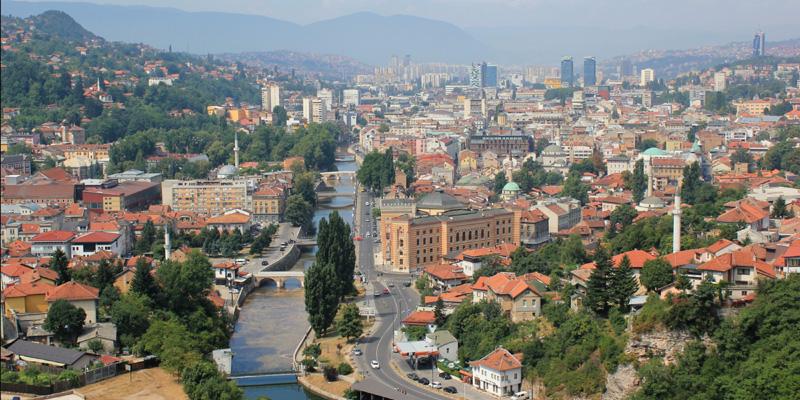 Sarajevo, simbolo d'Europa