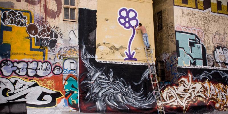 L'arte di strada di Michael De Feo