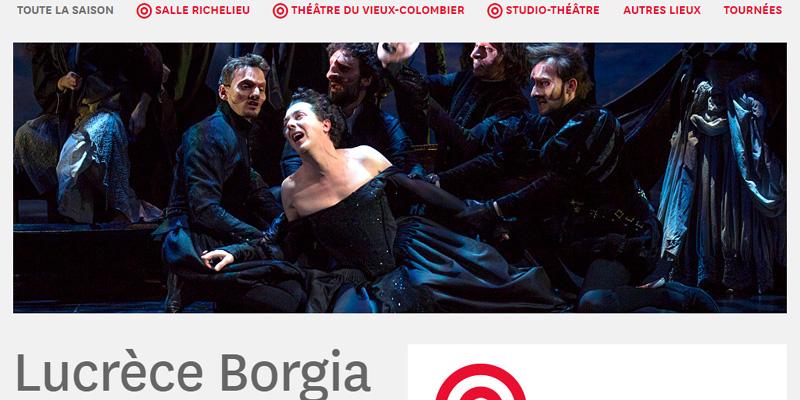 Lucrezia Borgia di Victor Hugo a Parigi