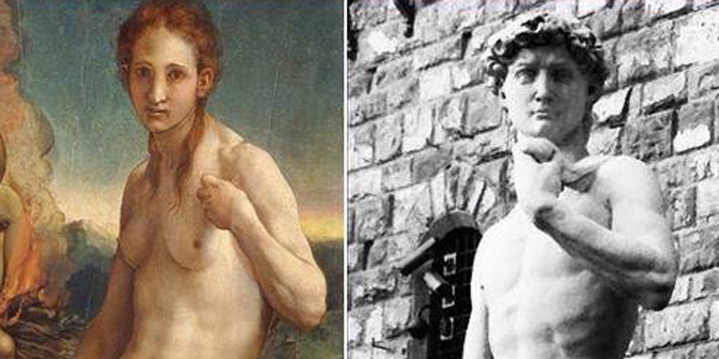 Selfie d'artista: metamorfosi gender di Bronzino