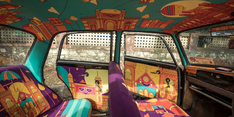 Via della seta: Il magico mondo di Taxi Fabric Mumbai