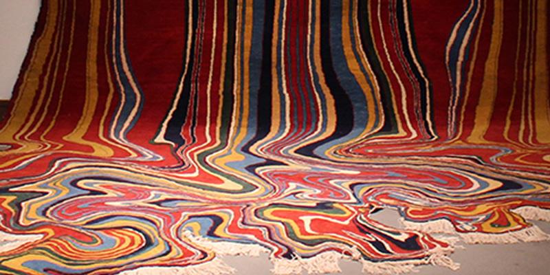 Via della Seta: I tappeti di Faig Ahmed in mostra a Roma