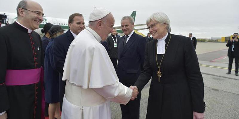 La portata storica del viaggio di Bergoglio in Svezia
