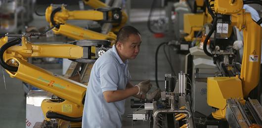 In Cina frena il mercato dei robot