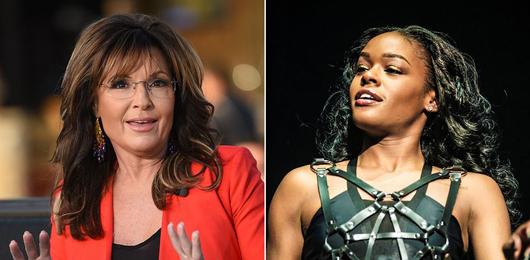 Sarah Palin vuole fare causa alla rapper