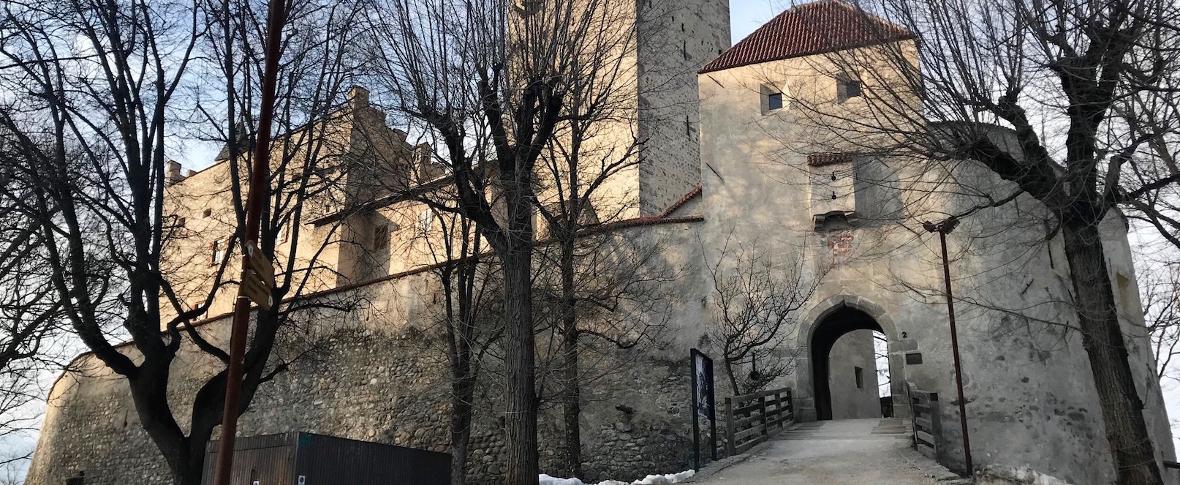 Al castello di Brunico, nel museo di Messner