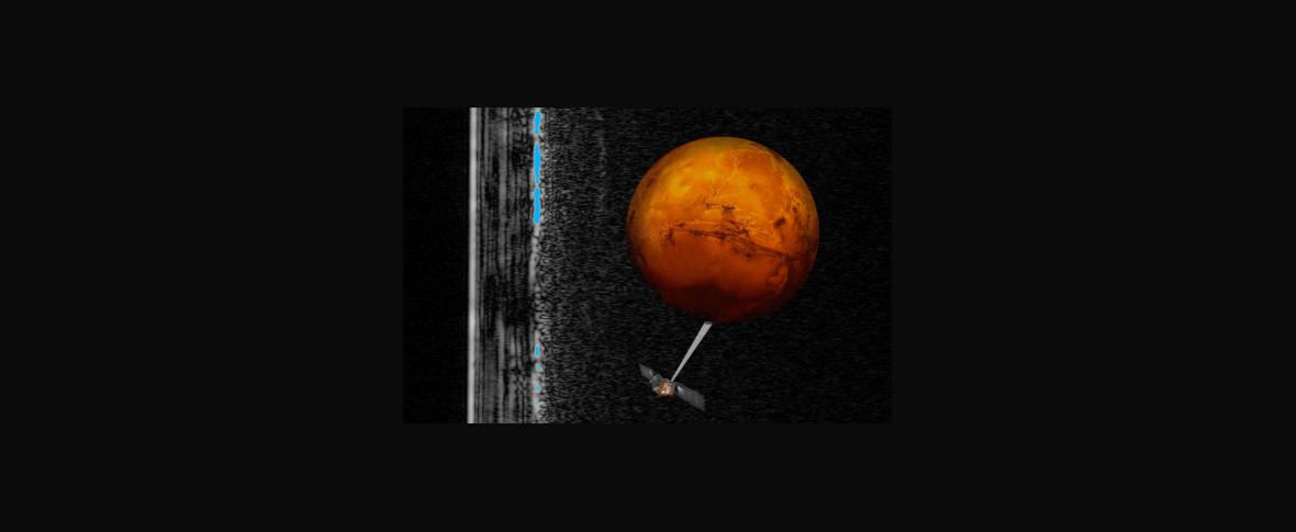 C'è un lago sotterraneo su Marte