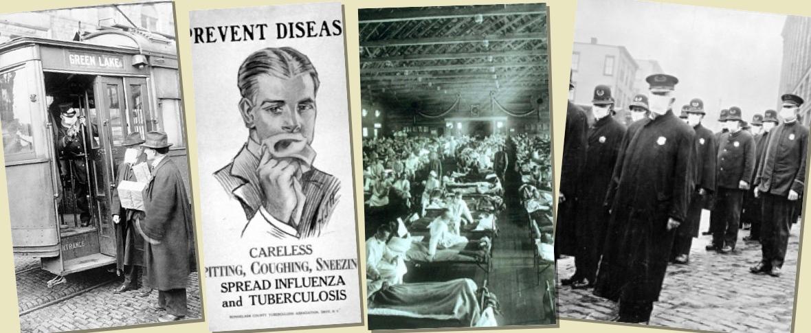 L'influenza spagnola come 'promemoria'