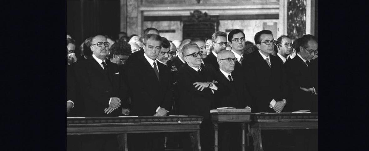 La morte di Moro, le commemorazioni divise