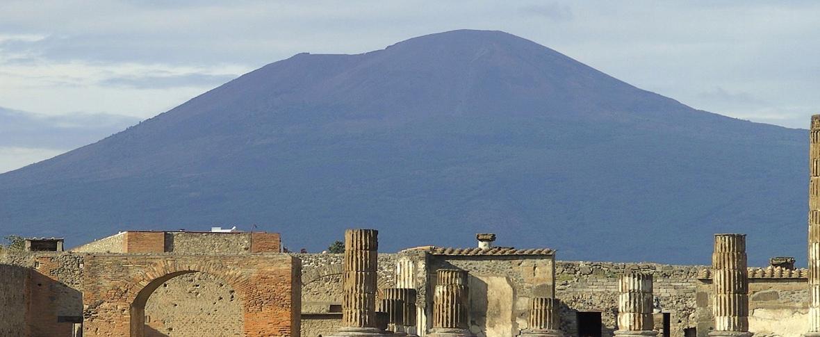 Leda e il cigno a Pompei