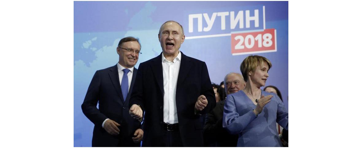 Putin rieletto per il quarto mandato
