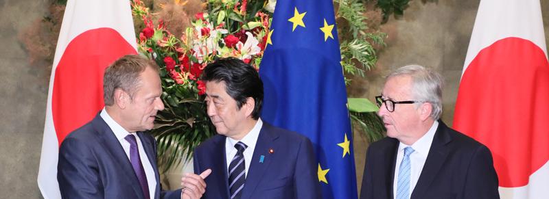 Entra in vigore l'accordo di libero scambio tra UE e Giappone