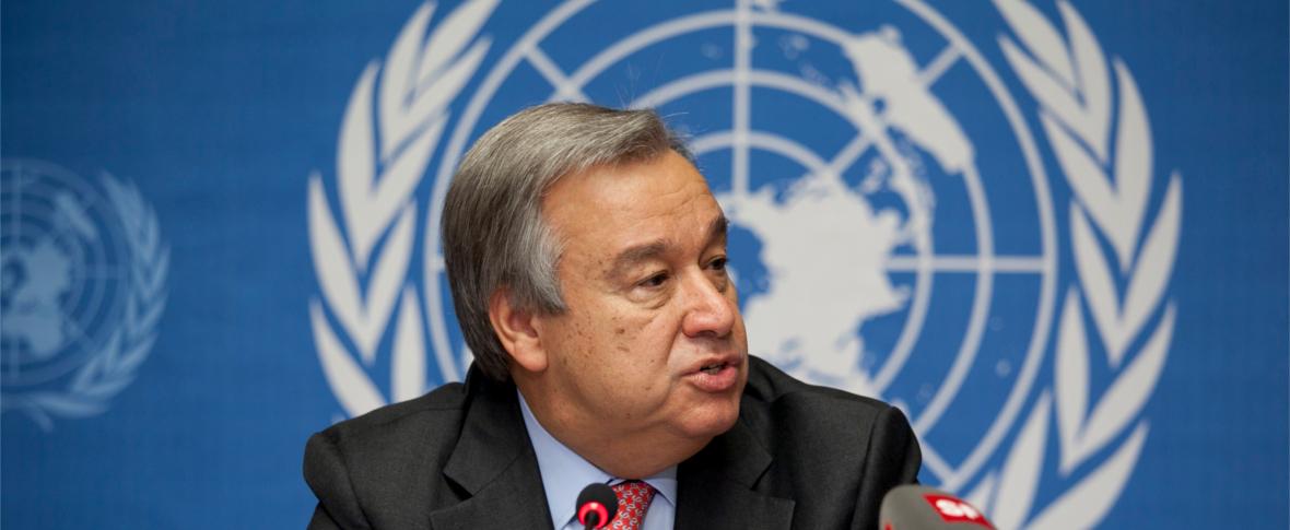 Guterres all'ONU: attenzione per i diritti umani a rischio