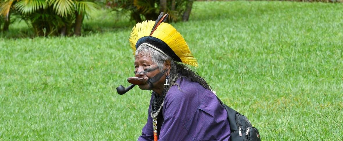 Il leader indigeno Raoni Metuktire candidato al premio Nobel per la pace
