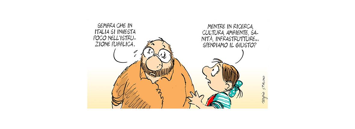 L'Italia nei dati OCSE sull'educazione