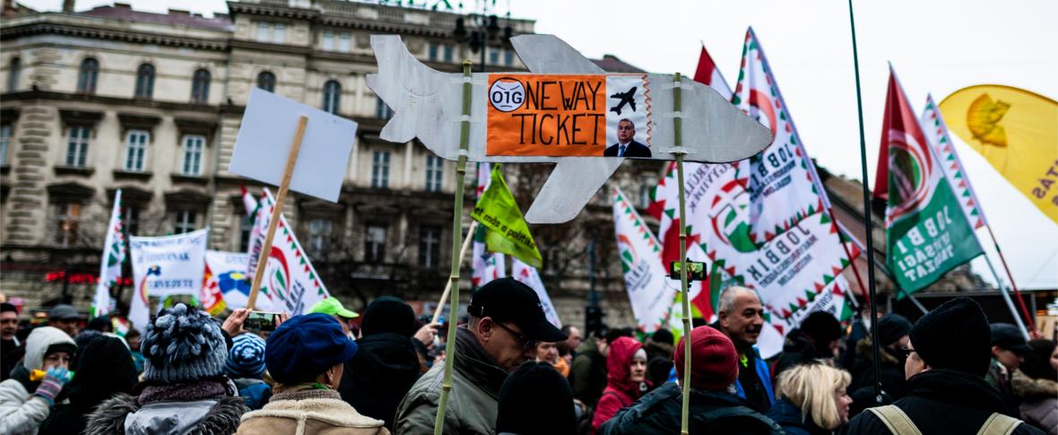 La protesta degli scienziati in Ungheria