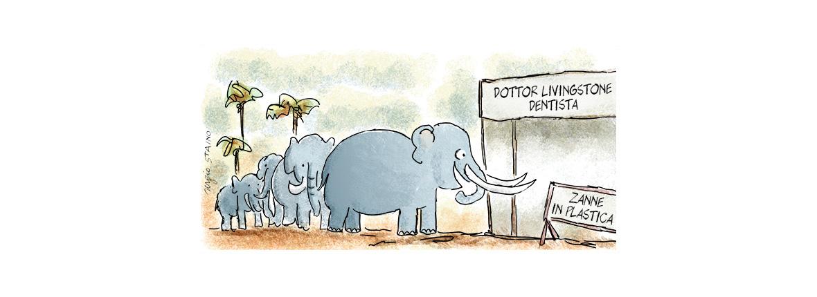 Lo sterminio degli elefanti per il commercio dell'avorio
