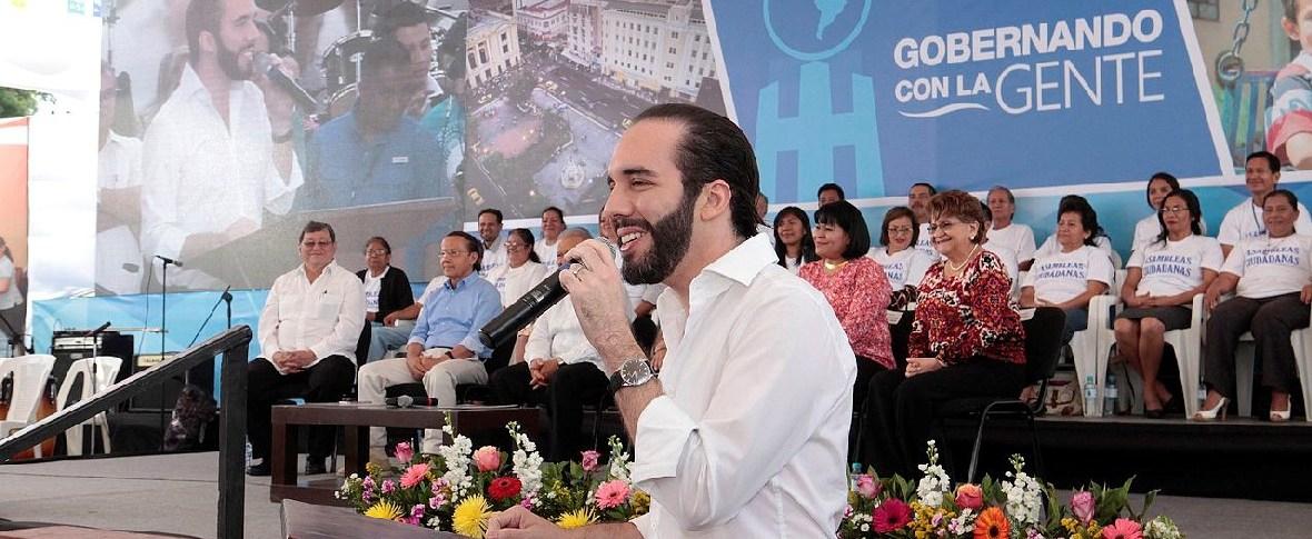 Nayib Bukele nuovo presidente di El Salvador