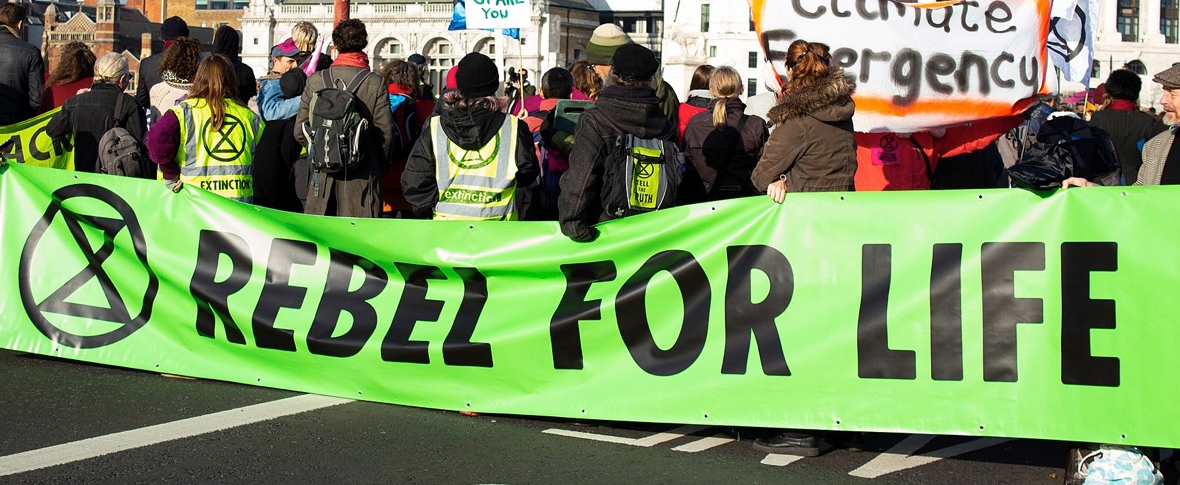 Nuova ondata di proteste di Extinction Rebellion in Gran Bretagna