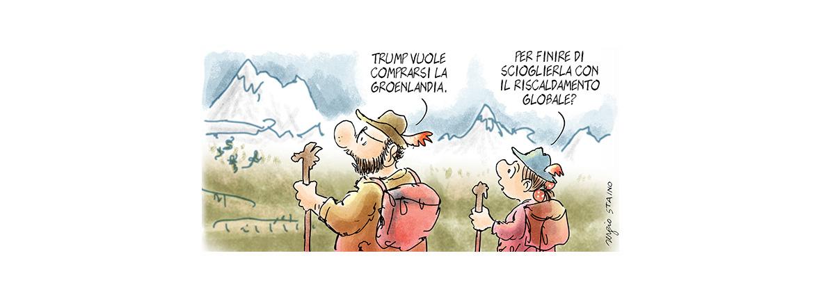 Perché Trump è interessato alla Groenlandia?