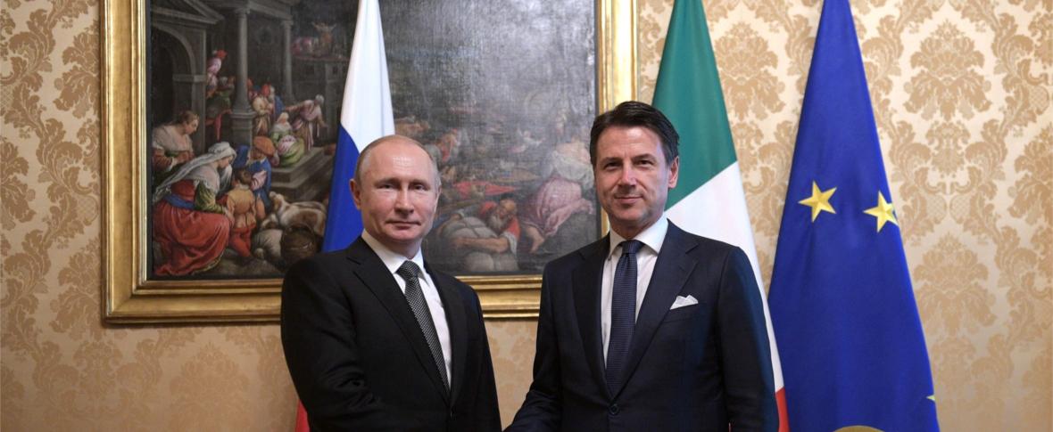 Putin in visita in Italia