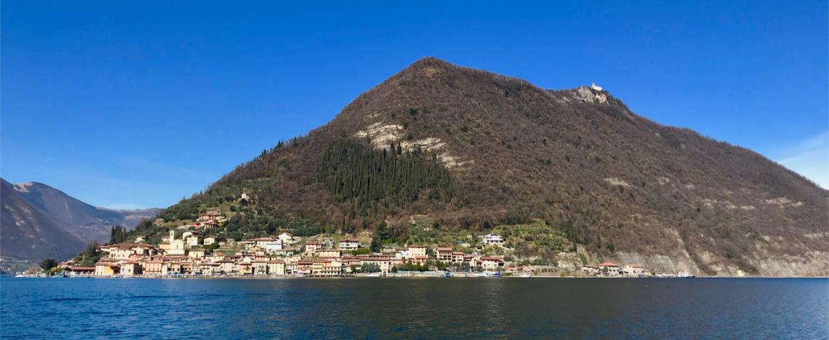 A Monte Isola, la montagna nel lago