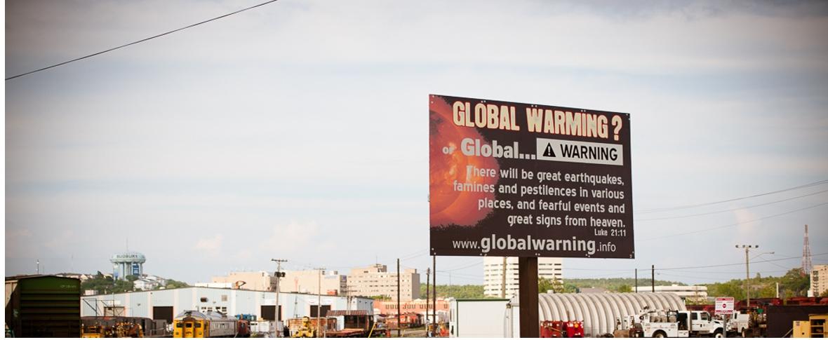 Convinzioni e paure sul cambiamento climatico