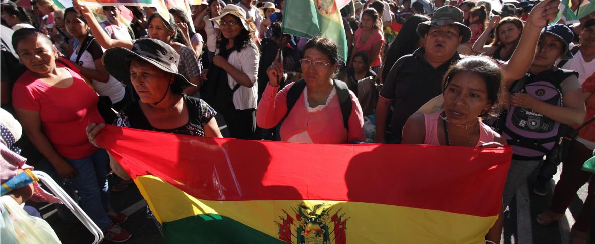 La Bolivia comincia la campagna elettorale in Argentina