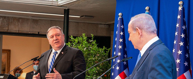 La visita di Pompeo in Israele nella grande partita tra USA e Cina