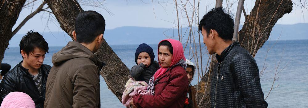 Rischio Covid-19 nei campi profughi delle isole dell'Egeo