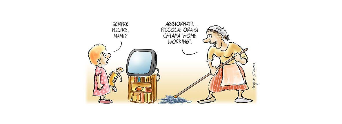 Smart working, due parole mille significati