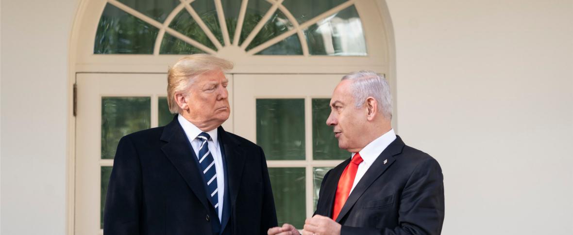 Trump e Netanyahu presentano il piano di pace per il Medio Oriente