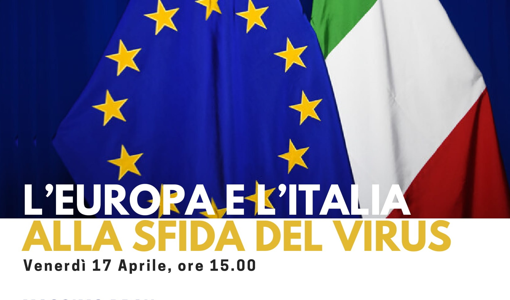 L'Europa e l'Italia alla sfida del virus