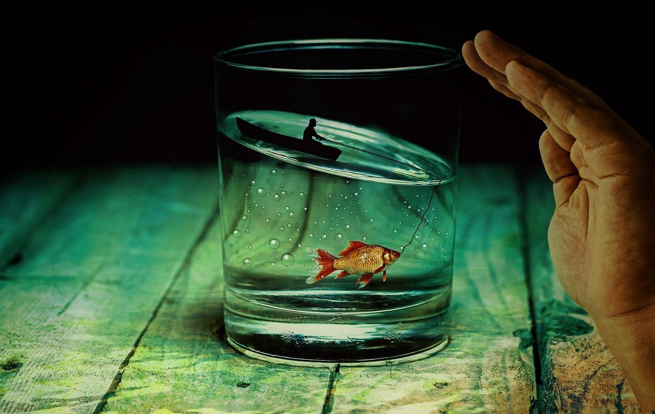 La chimica in un bicchiere d'acqua