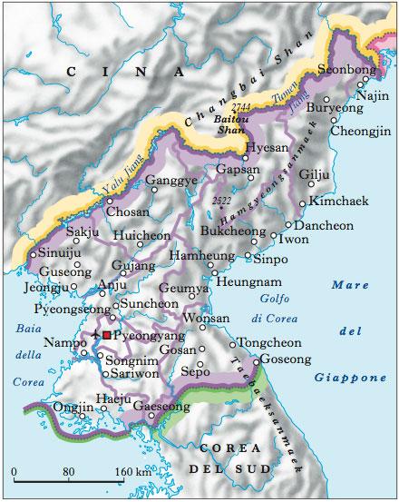 Corea, Repubblica Democratica Popolare di