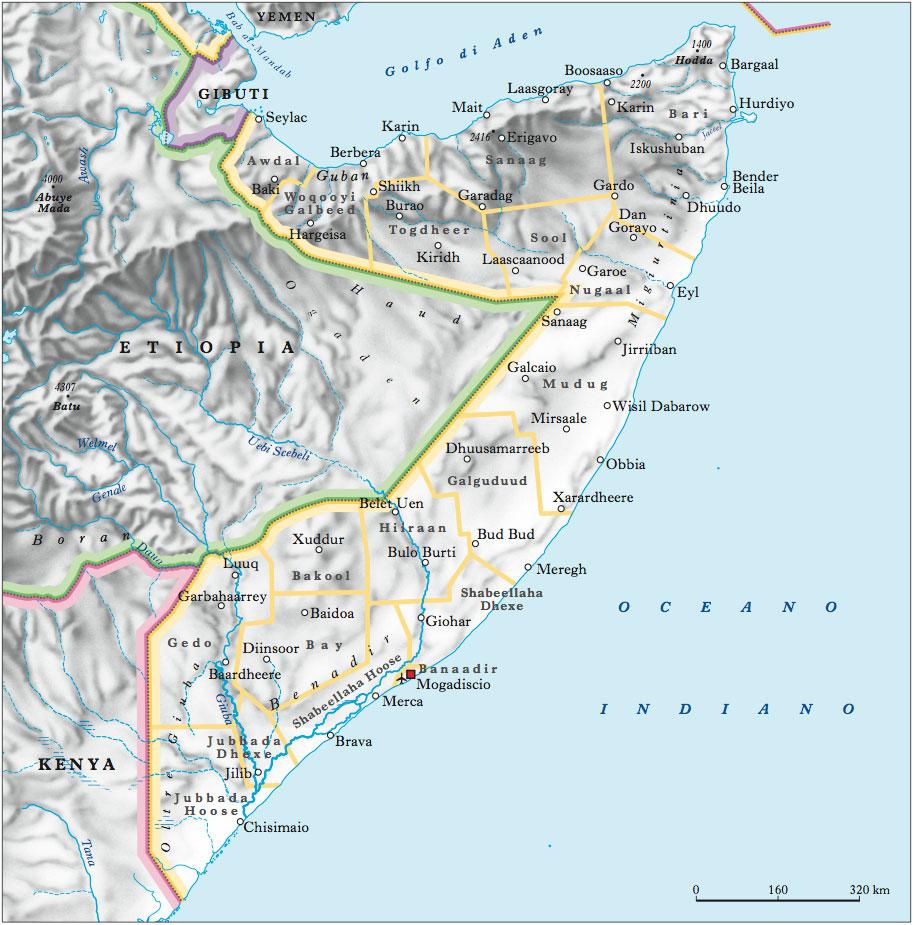 Somalia, Repubblica Democratica di