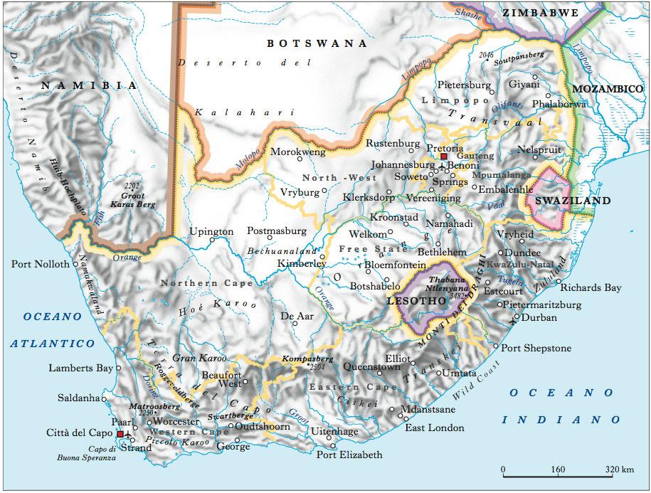 Cartina Muta Del Sudafrica.Monti Dei Draghi Documenti Foto E Citazioni Nell Enciclopedia Treccani
