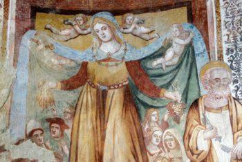 Chiesa di Santa Maria in Villa. Incoronazione della Vergine