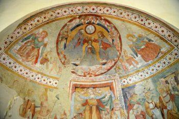 Chiesa di Santa Maria in Villa, ciclo pittorico
