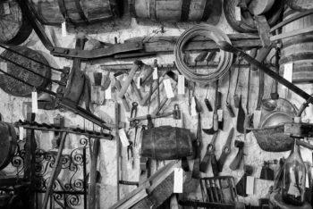Oggetti raccolti all'interno del Museo dell'artigianato e della vita rurale