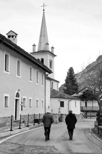 Chiesa parrocchiale della Visitazione di Maria, frazione di Bruil