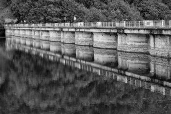 Diga del Lago artificiale del Brugneto