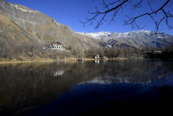 Il Lago Grande di Moncenisio