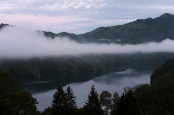 Lago artificiale del Brugneto