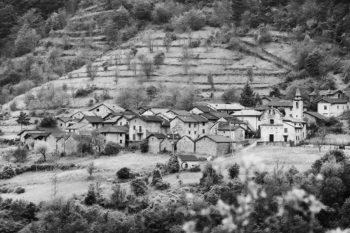 Zerba, un intrico di valli nella zona delle quattro province
